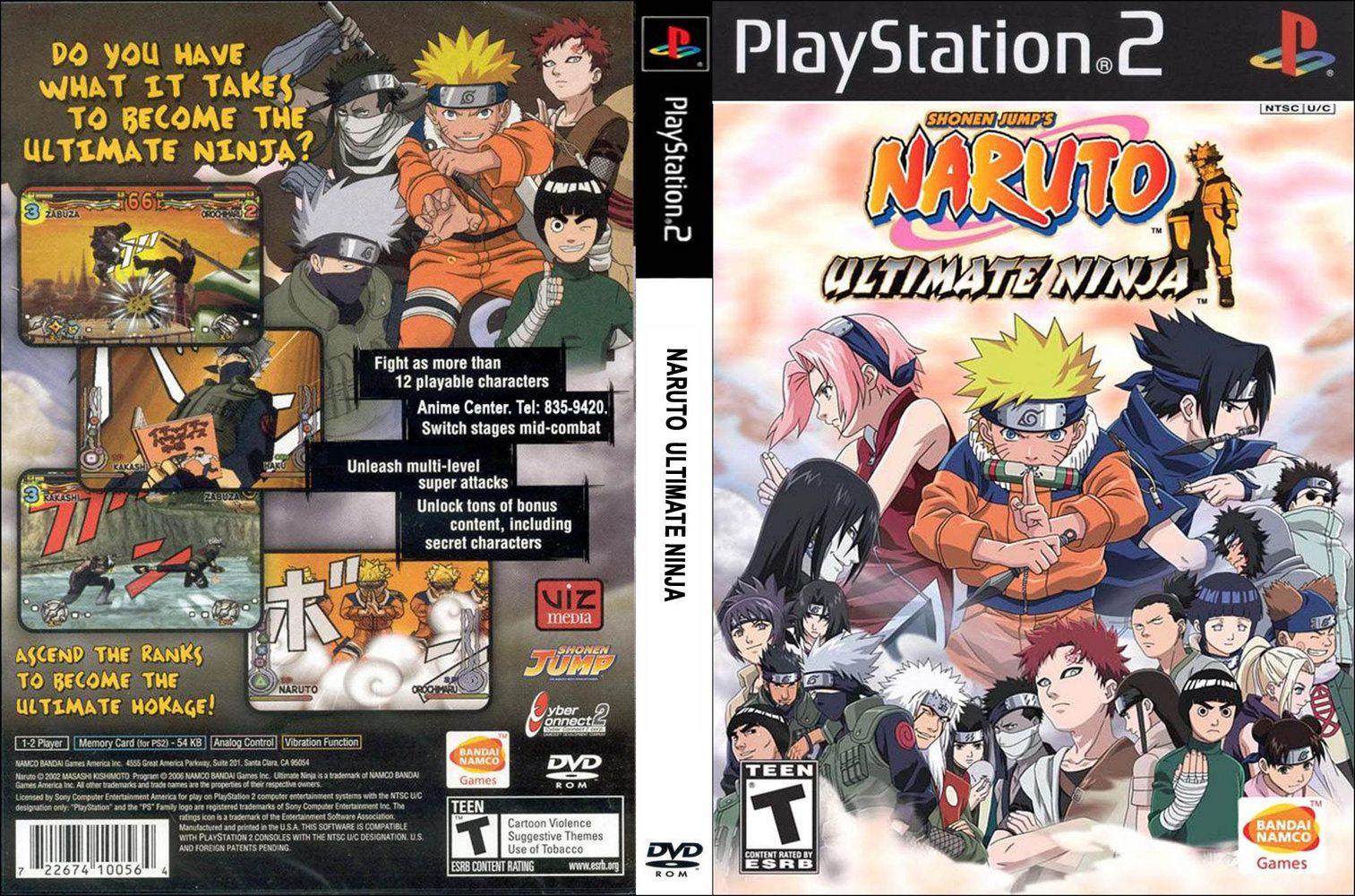 Naruto Ultimate Ninja 1 [Game Giả lập]